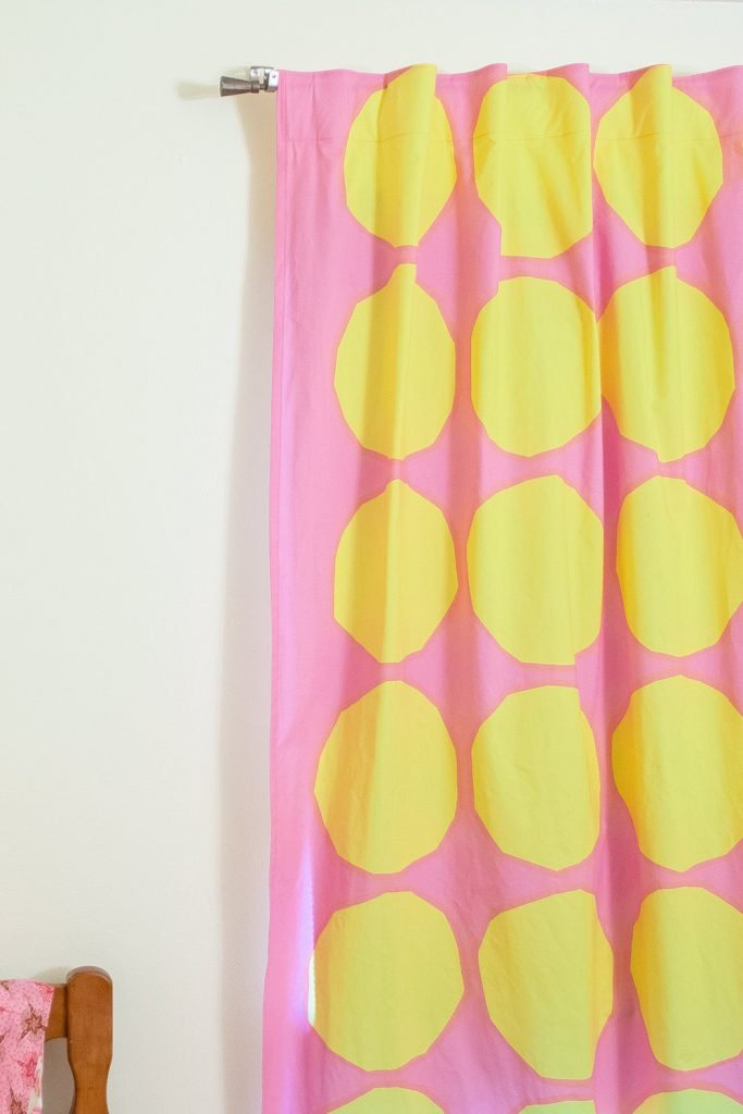 How to sew curtains the easiest way
