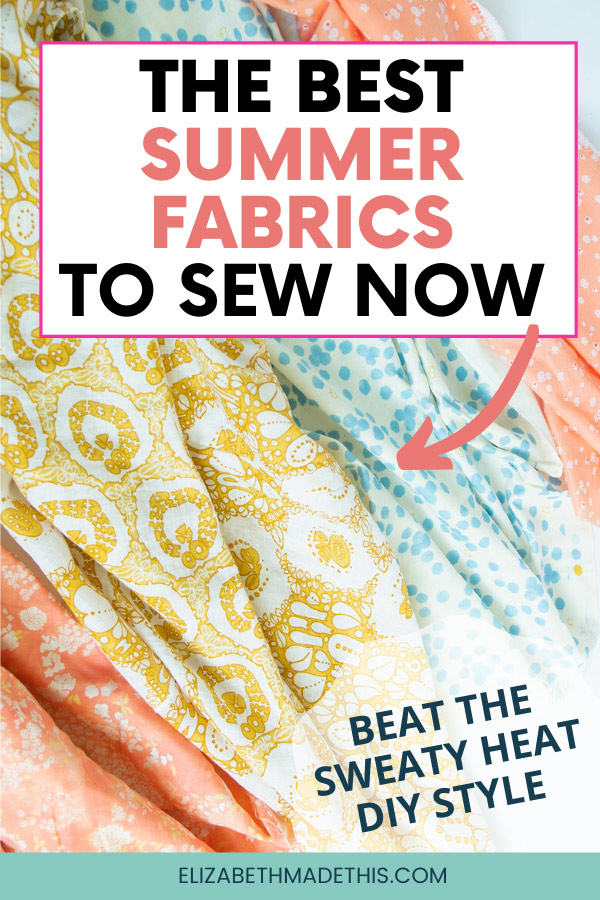 collection of the best summer fabrics