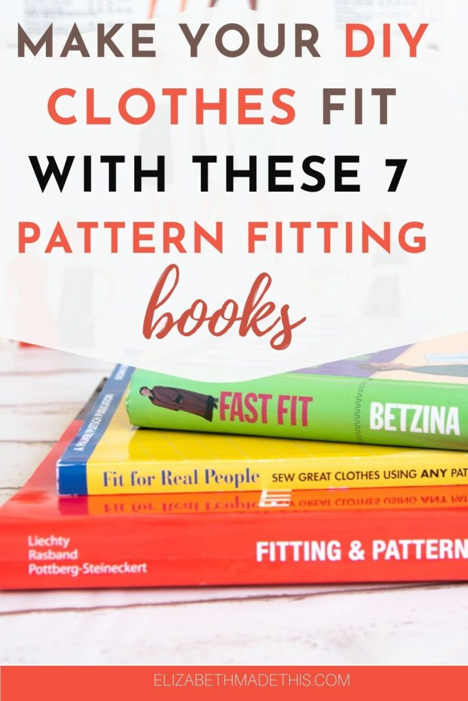 stack of sewing pattern fitting books