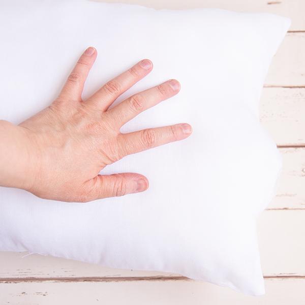 stuffed diy pillow form