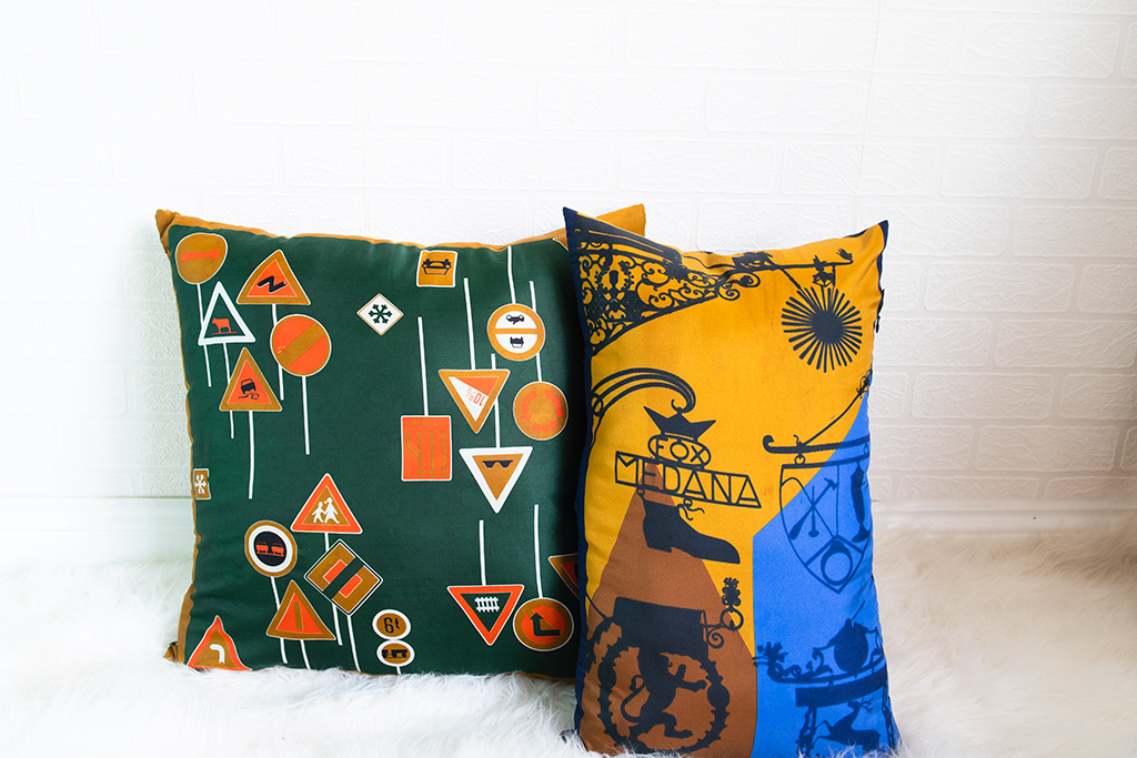 How to sew a statement silk pillow