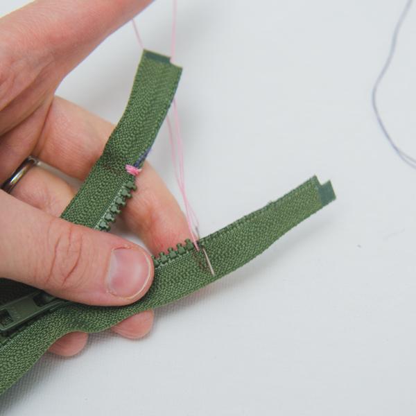 adding thread stop to zipper