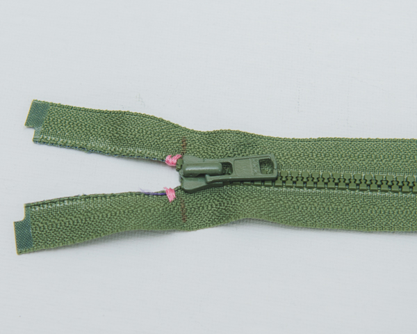 thread stop on zipper
