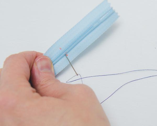 adding thread stop on zipper