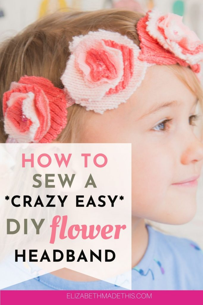 how to make fabric flower headbands